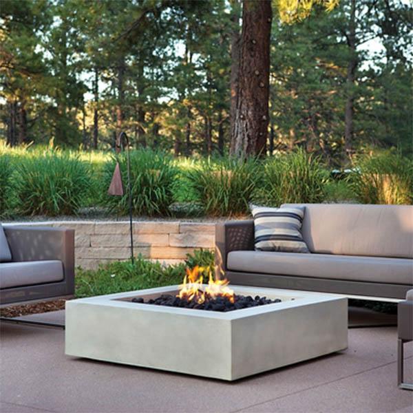 Mezzo Square Propane Fire Pit Table